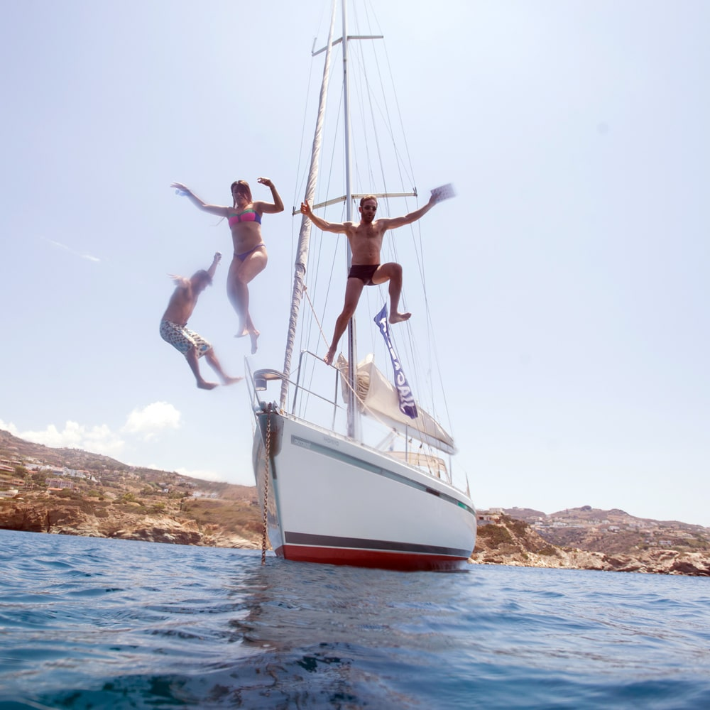 Dailly sailing to Dia island - Book Now