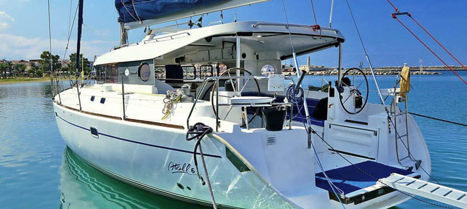 sailing holiday in crete