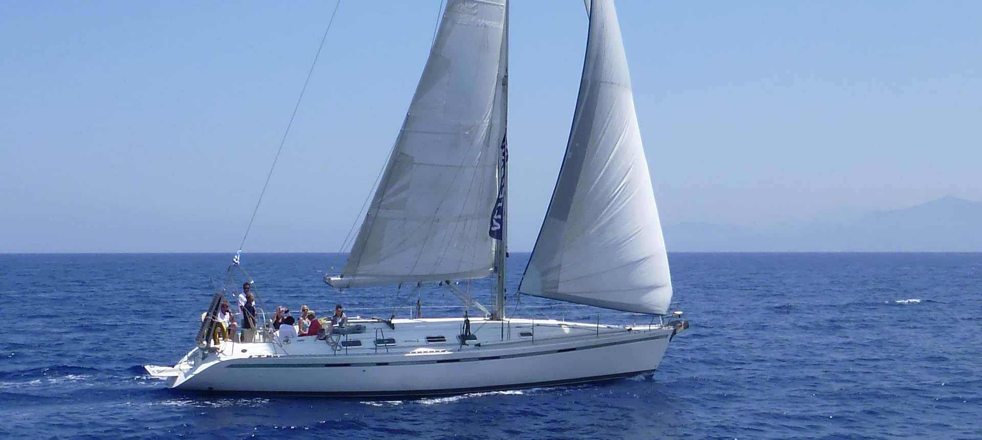 Yacht charter Crete, family vacations, sailing education